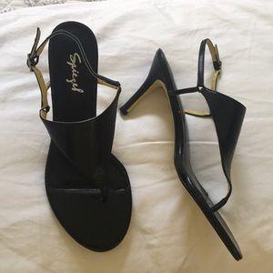 NWOT Spiegel black heels